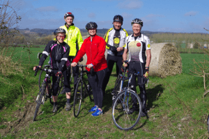 Cycling UK support the Cardiac Rehab Cycle Group