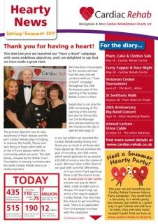Hearty News - Spring 2017 - Out Now!