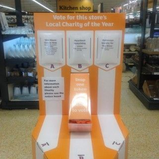 Vote for Us! Sainsbury's Local Charity of the Year